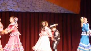 """Napa Valley Ballet folklorico Presents at Napa Opera House """"Esto Es Mexico"""""""