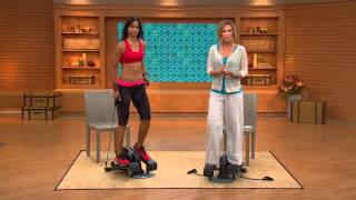 InMotion Compact Elliptical with Convertible Foot Pedals with Kerstin Lindquist