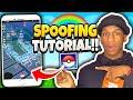 Pokemon Go Spoofing Tutorial (iOS/Android) SO EASY!