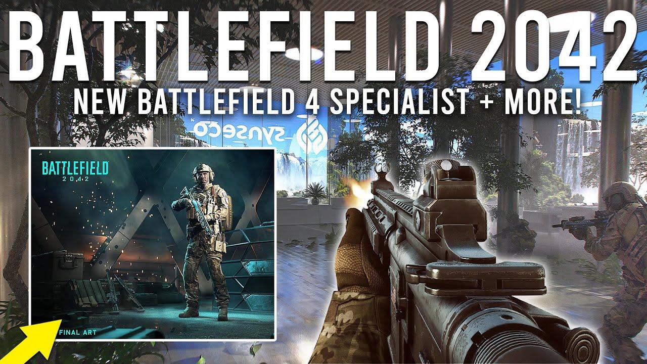 Battlefield 2042 NEW Specialist from Battlefield 4, APS, Combat Shield!