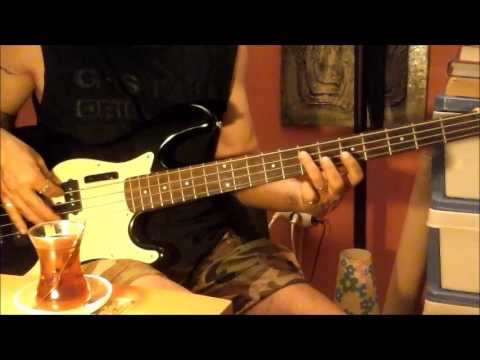 Krokus - Rockin' In The Free World 4TP bass ezgi yorumu 03072017