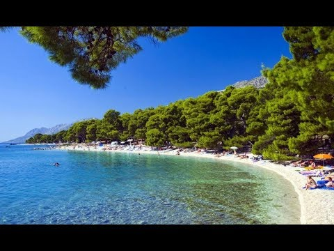 Plaže Brela Hrvatska 2017