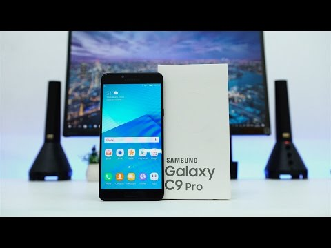 Unboxing Samsung Galaxy C9 Pro Indonesia - BESAR!