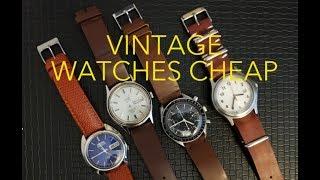 75a897f1d Vintage Seiko Omega Timex Speedmaster Seamaster Weekender ...