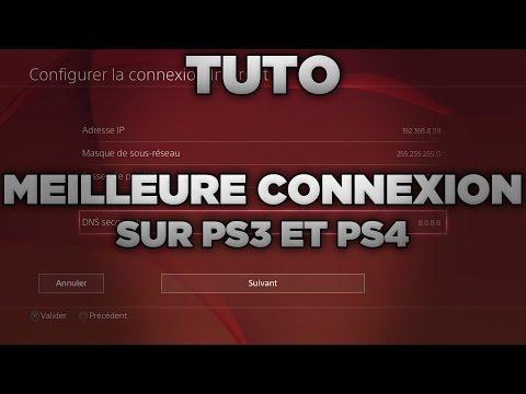TUTO : Avoir une meilleure connexion en ligne sur PS4 et PS3 !