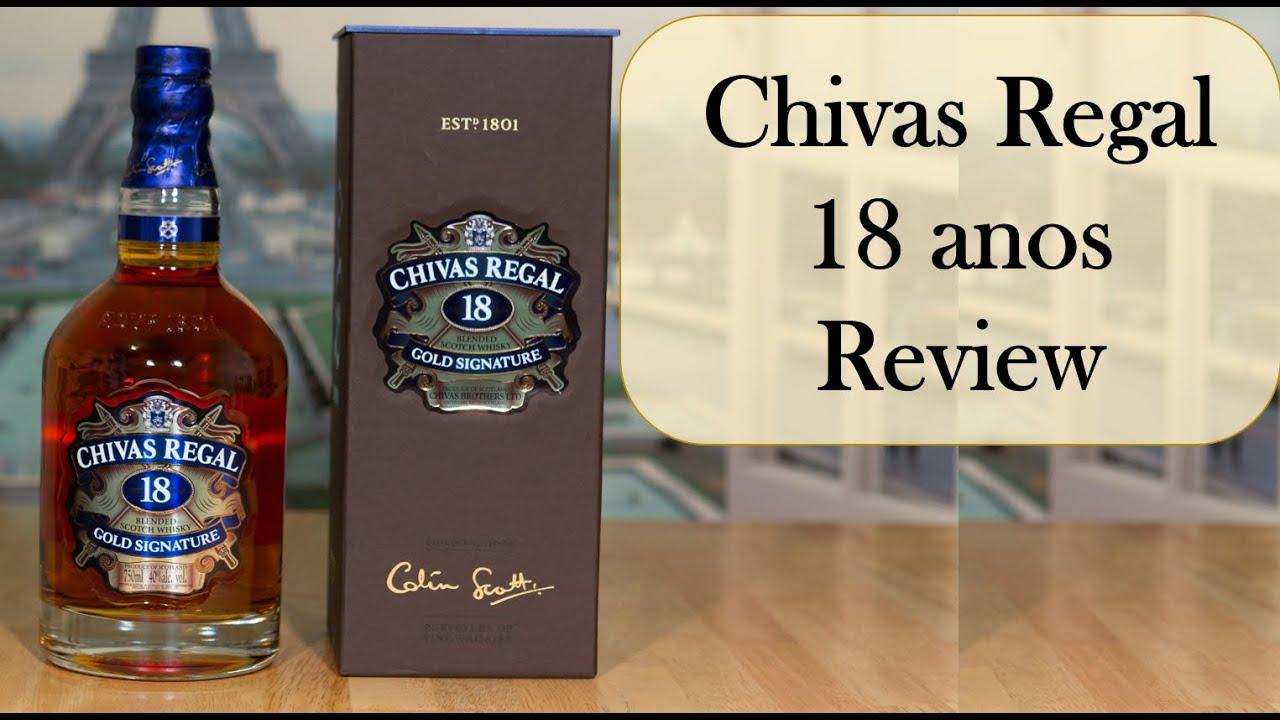 whisky brasil 78 chivas regal 18 anos review youtube. Black Bedroom Furniture Sets. Home Design Ideas