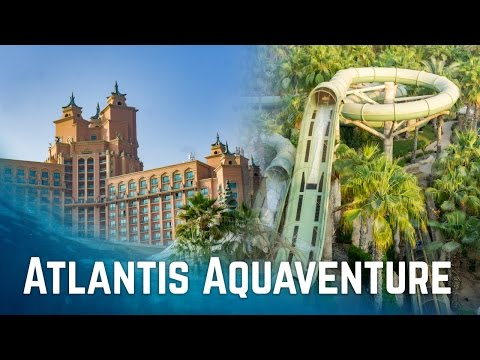 Water Slides at Atlantis Aquaventure Dubai! (Atlantis The Palm)