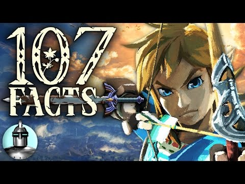 107 The Legend of Zelda: Breath of the Wild Facts YOU Should Know | The Leaderboard