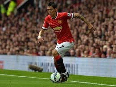 Angel Di Maria - The first 5 matches for Manchester United 2014/2015- Skills/Assists/Goals