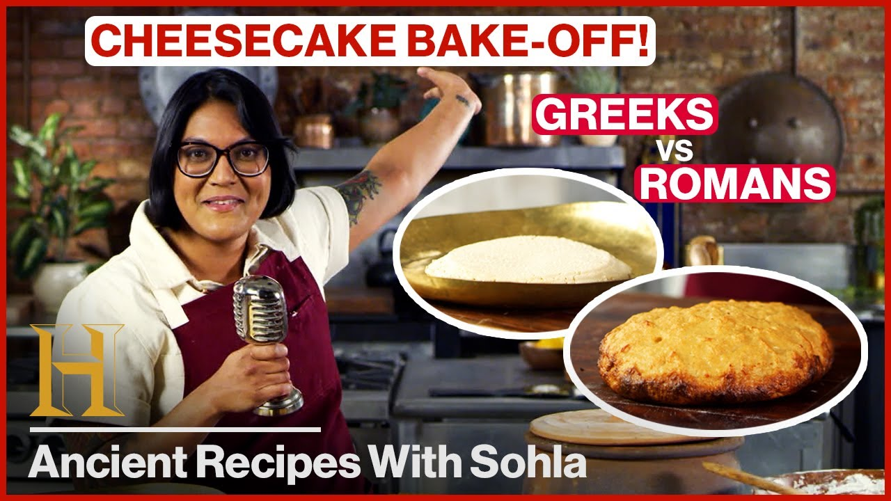 Sohla's Ancient Cheesecake Bake Off (Greeks vs. Romans) | Ancient Recipes With Sohla