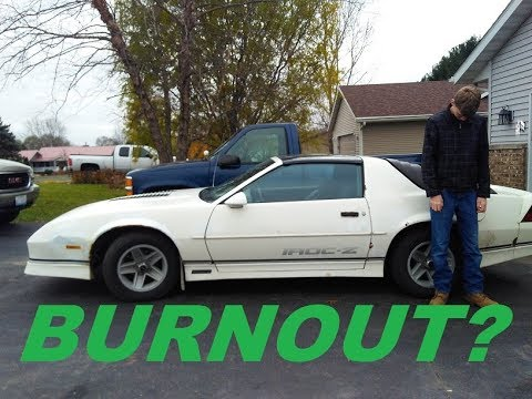 Will a 220,000 Mile, 31 Year Old CAMARO IROC-Z Do a BURNOUT?!?