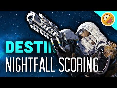 Destiny NIGHTFALL SCORING SADNESS - The Dream Team (Funny Moments)