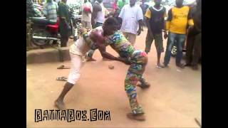vuclip Nigeria Fight Broken Up By Man With Whip!