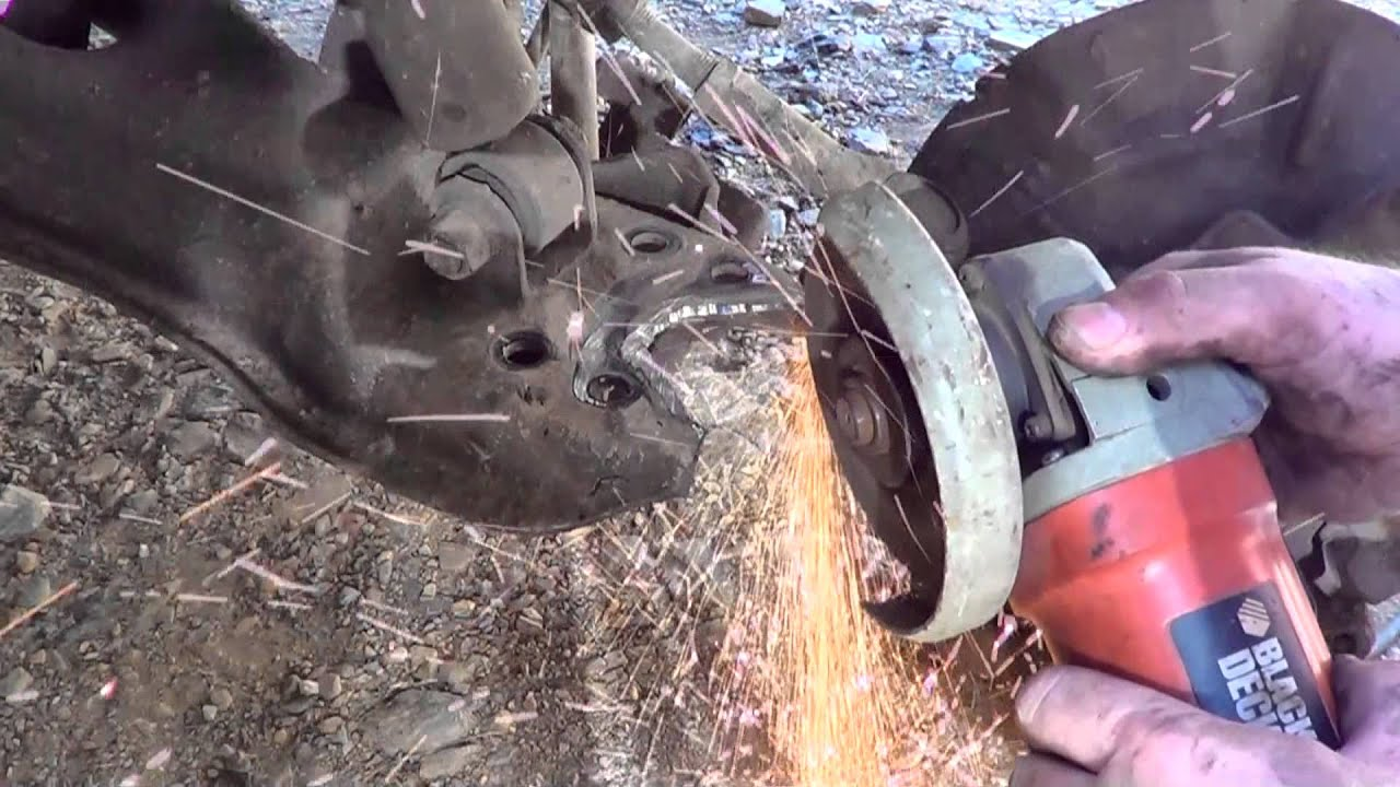 Lowering A Mazda B2200 Youtube