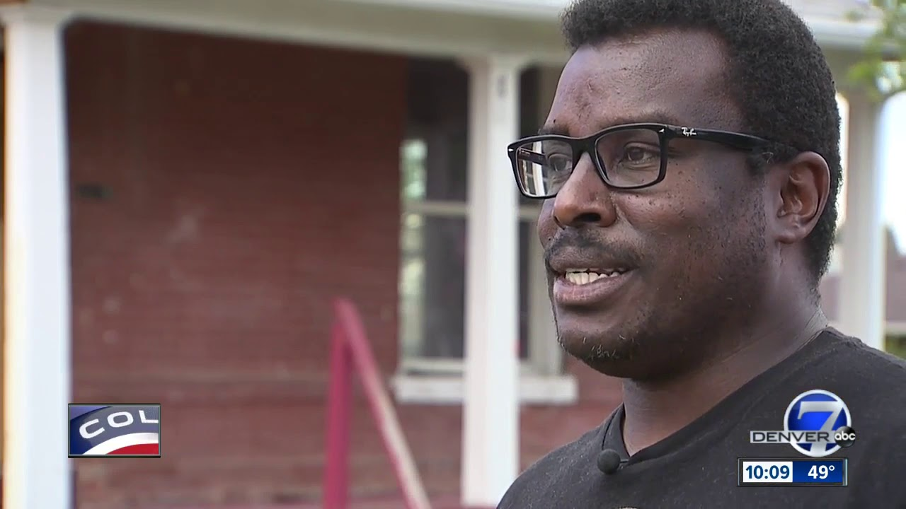 COLORADO: BLACK MAN TRYING TO SAVE 113 YR OLD HOME