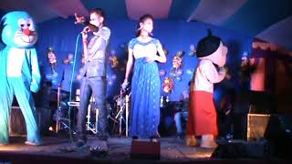 egra contai new 2018| Sunil and Pinki Duet Comedian Anchor | black dimond
