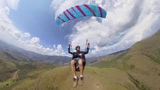 First day paragliding with Insta360 One - Primeiro dia usando a Insta360 One