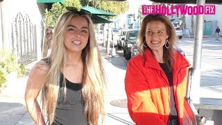 Addison Rae Easterling Talks Bryce Hall, Blueface, James Charles, Faze Tfue & More At Urth Caffe