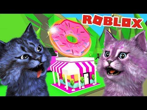 ЗАРАБАТЫВАЕМ НА МАГАЗИН ПОНЧИКОВ В АДОПТ МИ В РОБЛОКС! adopt me roblox donuts