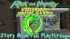 Rick and Morty: Virtual Rickality - Story Mode Full Playthrough (VR gameplay, no commentary)