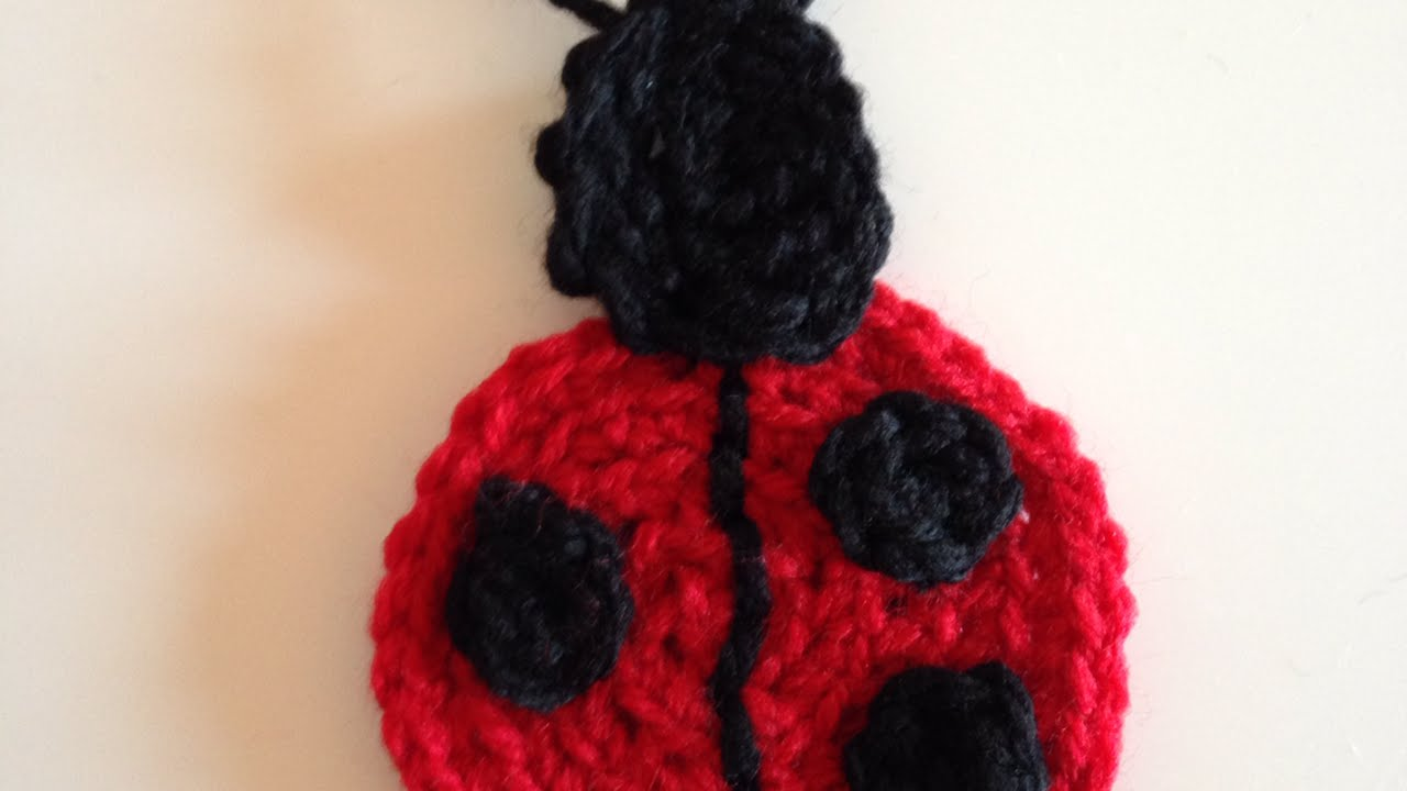How to crochet a cute ladybug applique diy crafts tutorial how to crochet a cute ladybug applique diy crafts tutorial guidecentral bankloansurffo Choice Image