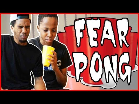 THE FEAR PONG CHALLENGE!! ft. @juice_hoops & Trent