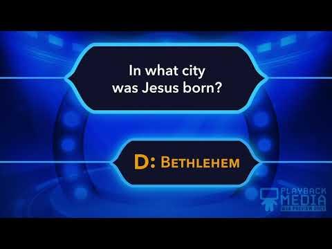 Christmas Story Bible Trivia Game For Kids
