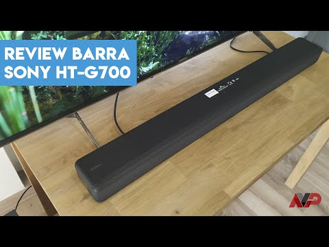 Análisis: barra de sonido Sony HT-G700