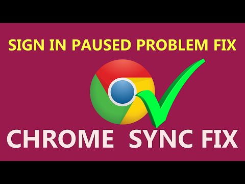 How To Fix Google Chrome Sync Paused Problem | 2020 | [SOLVED]