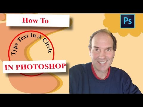 How To Type Text In A Circle In Photoshop | Photoshop Tutorial thumbnail