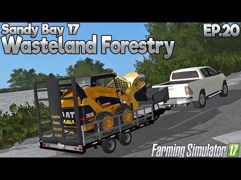Sandy Bay 17 - Farming Simulator 17 -  Ep.20 (with Wheel Cam & Seasons Mod)