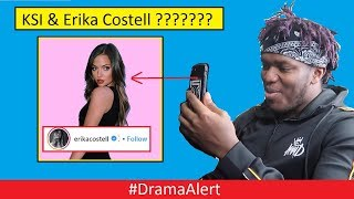 "KSI & Erika Costell ???? #DramaAlert PewDiePie "" Twitch TH0T$ "" is Back! - Wolfieraps Redemption?"