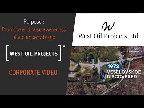 Corporate video for West Oil Projects company
