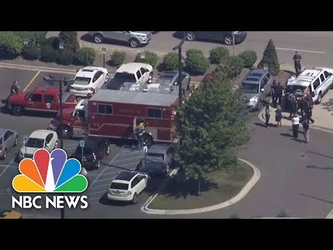 Police Officer Stabbed In Michigan Airport, Possible Terror Incident | NBC News