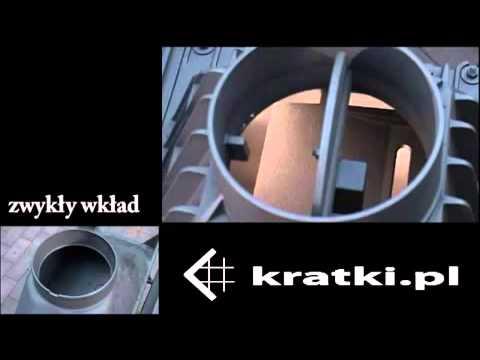 Дровянная каминная топка Kratki ZUZIA