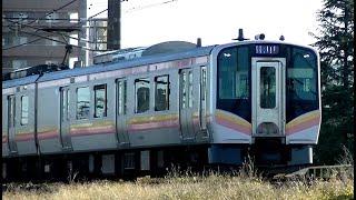 E129系B21編成 信越本線上り普通426M 吉田→新潟→長岡