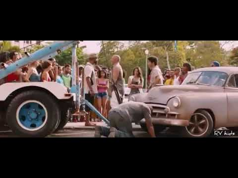 Fast And Furious 8 Movie Clip Car Race Scene Tamil Dubbed