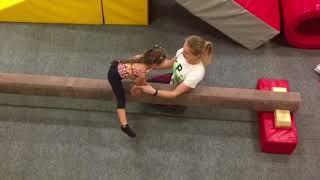 Спортивная гимнастика 4 года. Тренировка в клубе OGO