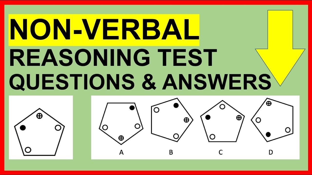 hight resolution of Non-Verbal Reasoning Test Questions and Answers (PASS!) - YouTube