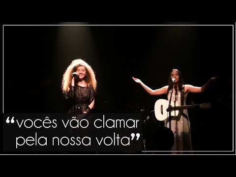 """Anavitória - """"Nós"""" - Solar Botafogo - Rio de Janeiro/RJ - 30.09"""
