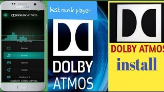 Dolby atmos without root