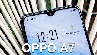 Trên tay OPPO A7: giá 5.99 triệu, pin 4230mAh, màu mới, Snapdragon 450, RAM 4GB