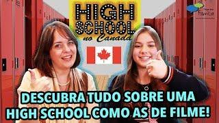 DESCUBRA TUDO SOBRE UMA HIGH SCHOOL CANADENSE! - Papo em Família 08.