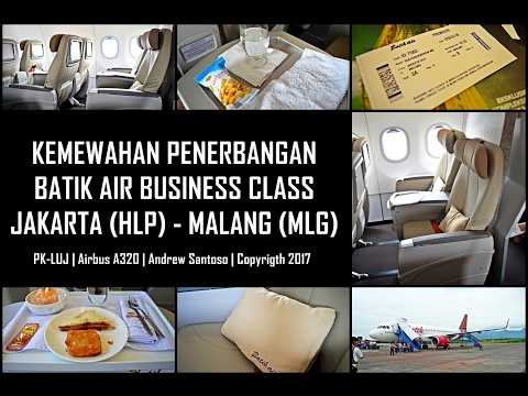 TRIP REPORT - BATIK AIR BUSINESS CLASS ID 7583 JAKARTA-MALANG