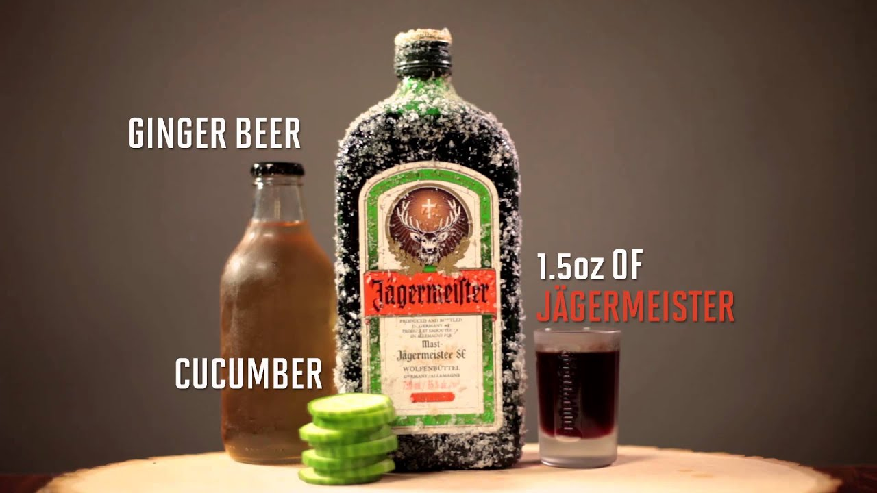 Jagermeister Drinks With Beer