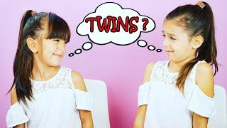 ARE WE TWINS??? Twin Telepathy Challenge - Mind Reading!