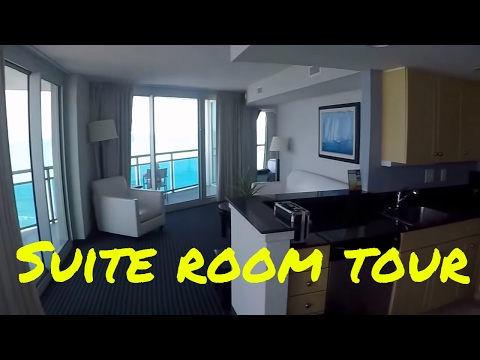 Oceans One Resort Room Tour In Myrtle Beach Sc .