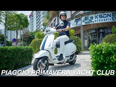 Trải nghiệm Vespa Primavera Yacht Club - Đặc biệt Đẹp | Xe.tinhte.vn