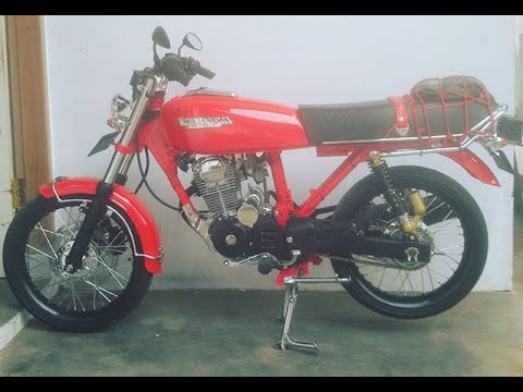 Honda Gl 100 Modifikasi Racing Racinglook Youtube