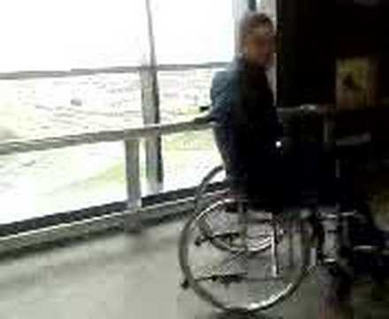 Weirdo In Ikea On Wheelchair